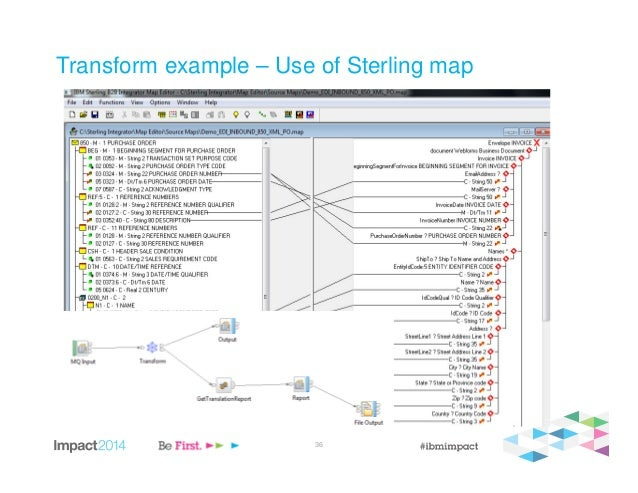 The Power Of Two Using IBM Standards Processing Engine For EDI Comme - Edi mapping