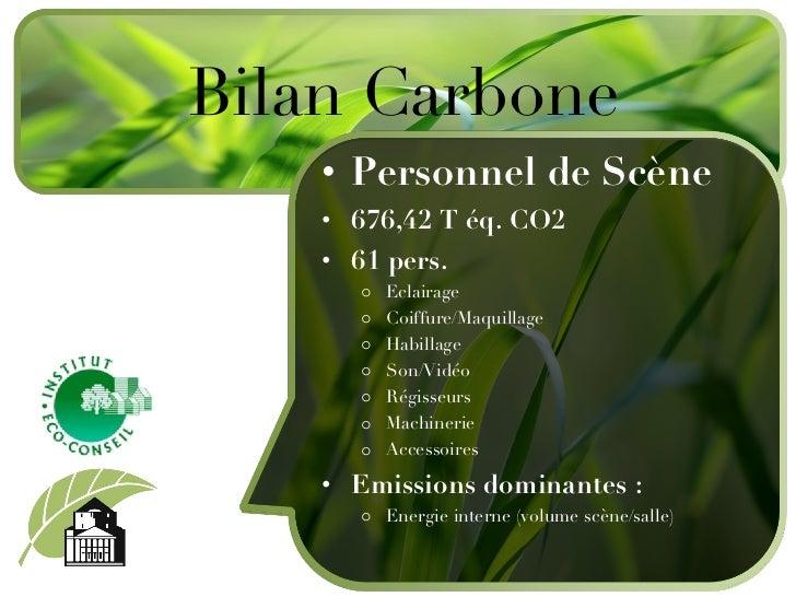 Iec 15 juin 3 - Bilan carbone personnel ...