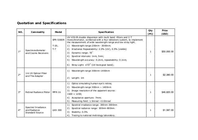 IEC62471 LED Radiation Safety Test