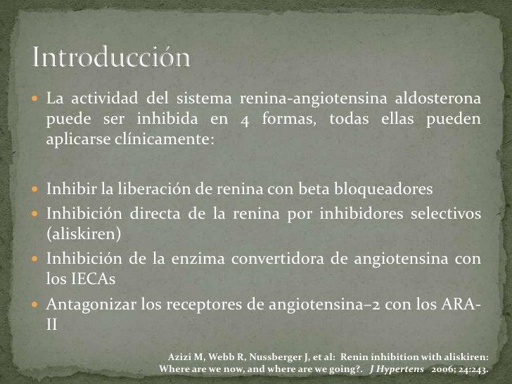 Inhibidores de la Enzima Convertidora de Angiotensina Slide 2