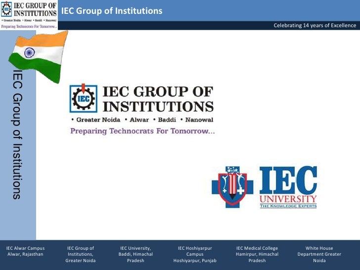 IEC Group of Institutions                                                                                                 ...