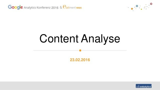 2016 Content Analyse 23.02.2016