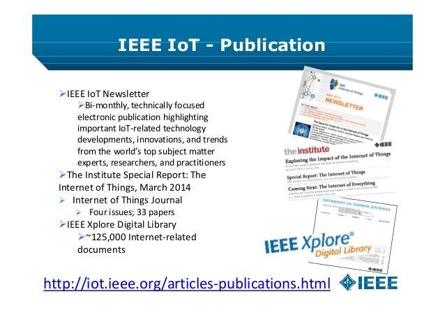 IEEE Internet Of Things (IoT) Initiative In Ukraine #iotconfua
