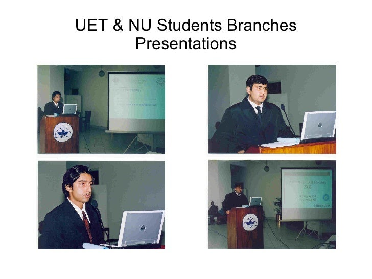 IEEE Lahore Section Annual General Meeting 2005 Slide 2
