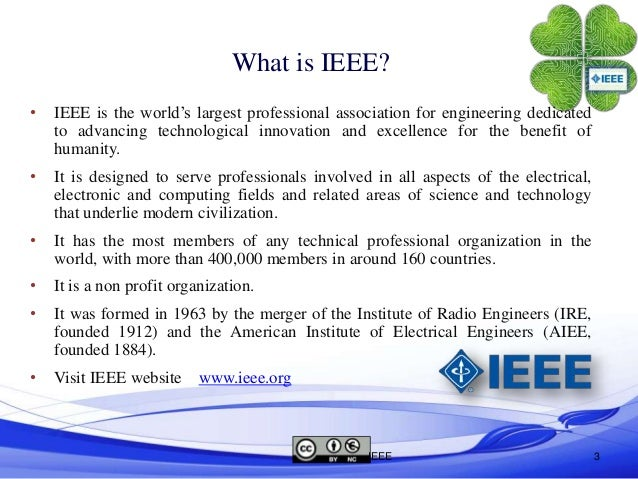 Ieee format for project ppt presentation