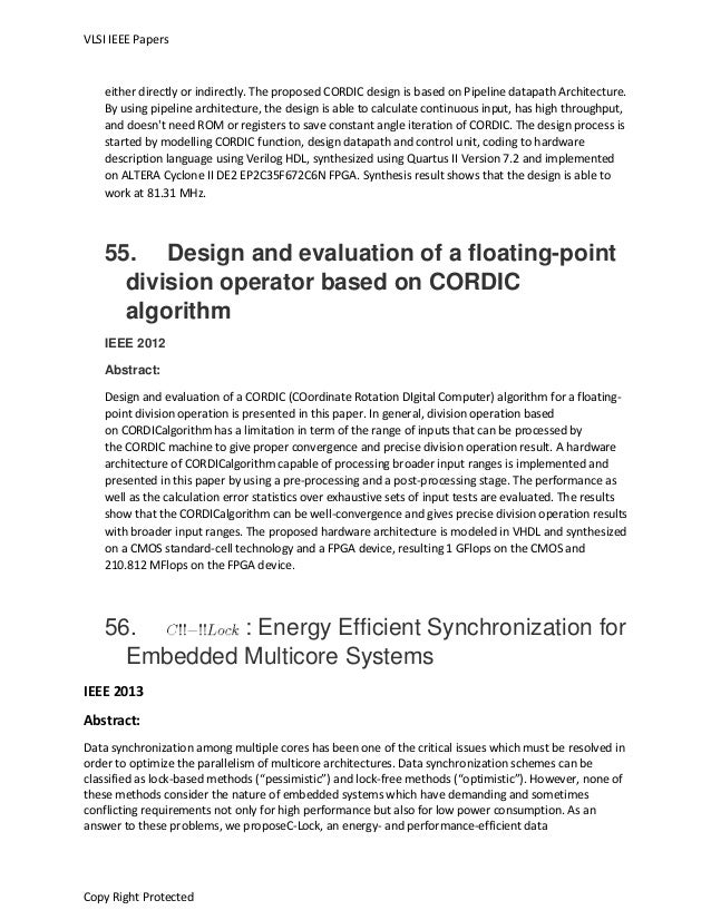 Ieee Papers On Embedded Systems 2015 Pdf