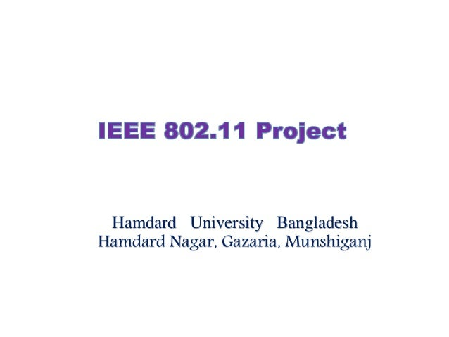 Hamdard University Bangladesh Hamdard Nagar, Gazaria, Munshiganj