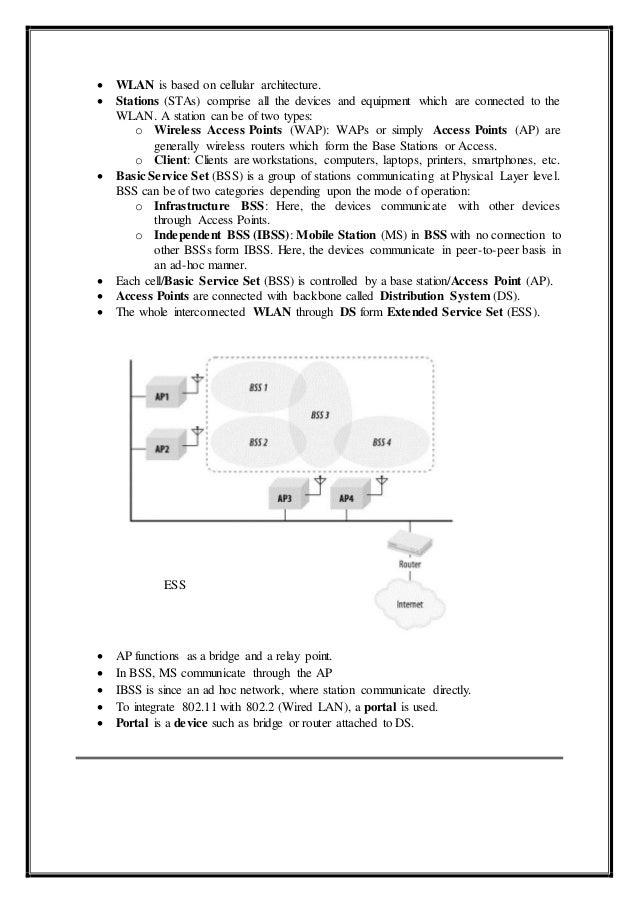 Tele Communications - IEEE 802.11 Slide 3