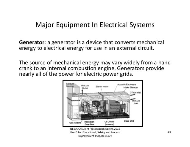 electrical master plan for chemical engineers and managers