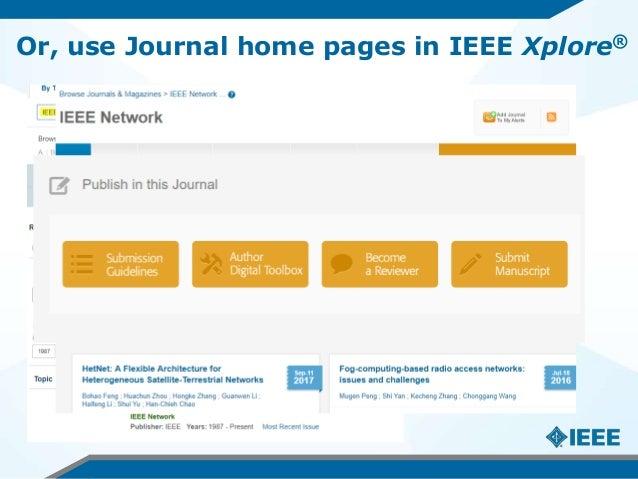 Workshop IEEE na USP – Como aumentar o impacto de suas