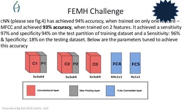 2018 IEEE Big Data Cup Challenge - FEMH Voice Data Challenge