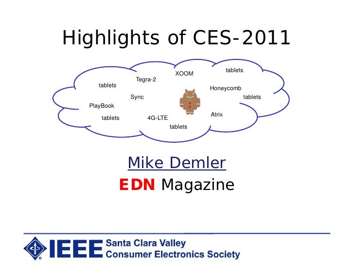 Highlights of CES-2011                                                  tablets                                  XOOM     ...