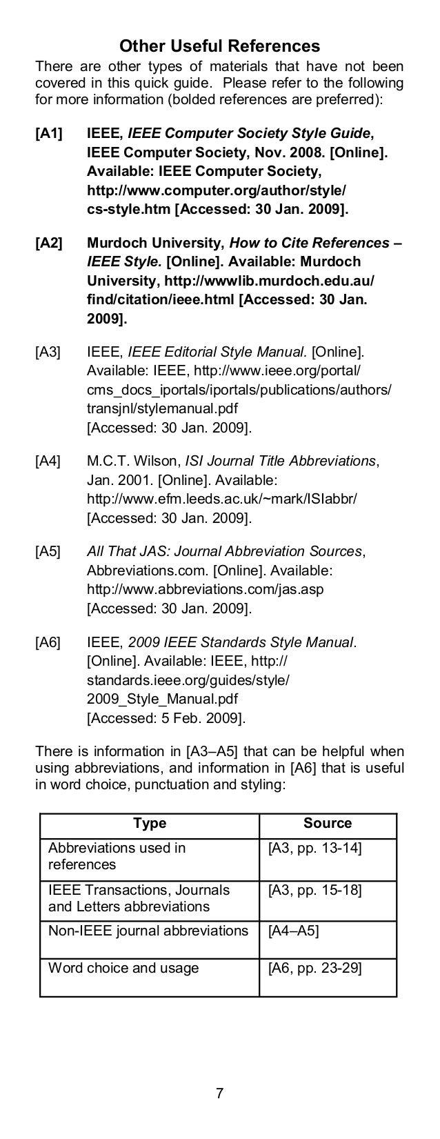 ieee citation style guide panduan pengutipan ieee rh slideshare net ieee standards style manual pdf IEEE Logo High Res
