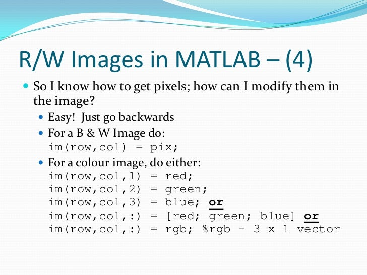 how to take only one value matrix in matlab