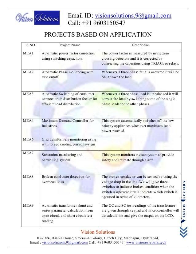 Ieee eee embedded 2018 project list