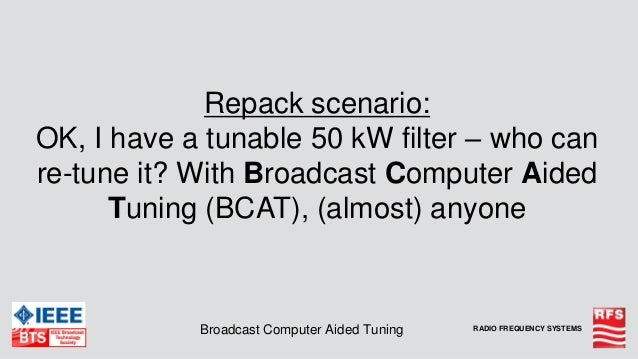 RFS Advanced Passive Components for UHF Broadcast Spectrum