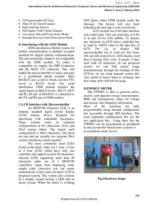electricity billing system project pdf