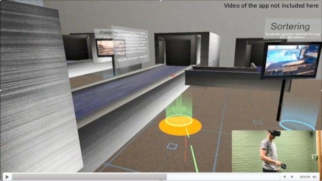 Methodology Mapping the needs prototypes evaluation design methodology VR Virtual Internship project summary