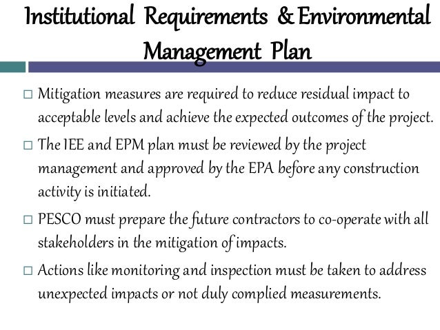 Ecological mitigation measures in English Environmental Impact Assessment