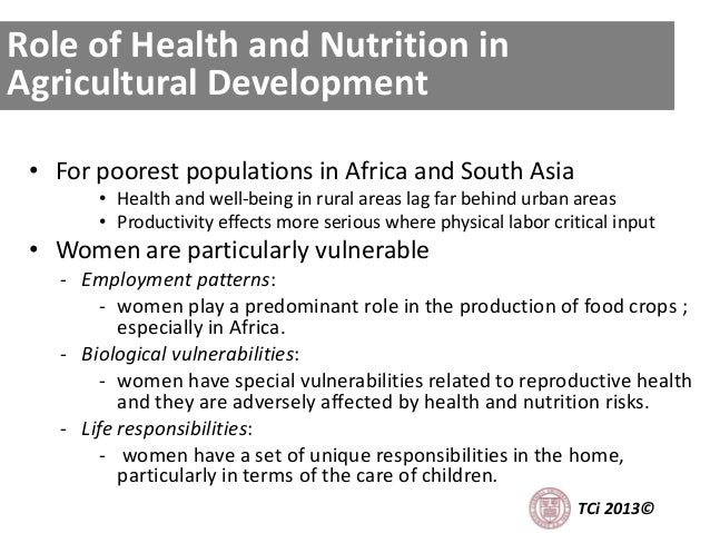 • For poorest populations in Africa and South Asia • Health and well-being in rural areas lag far behind urban areas • Pro...