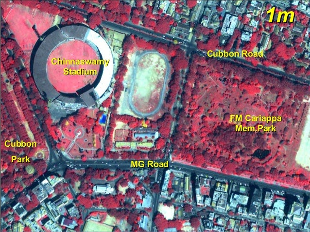 Gap Detection in Mango Orchards High resolution satellite data 20 February 2000 Shadnagar, Mahbubnagar District, AP (2.5 m...