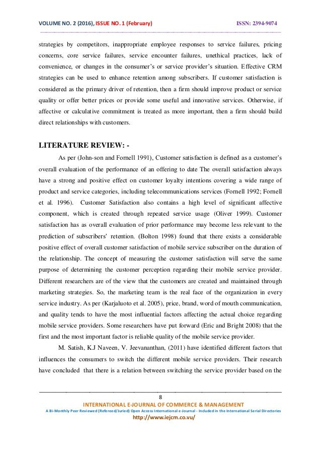 consumer behaviour towards mobile service providers Determining customer satisfaction from mobile phones: a neural network approach the final model uses eleven input factors, the most important of which are experience of product quality, level of service charges, level of call charges, and level of satisfaction with the service provider the estimated.