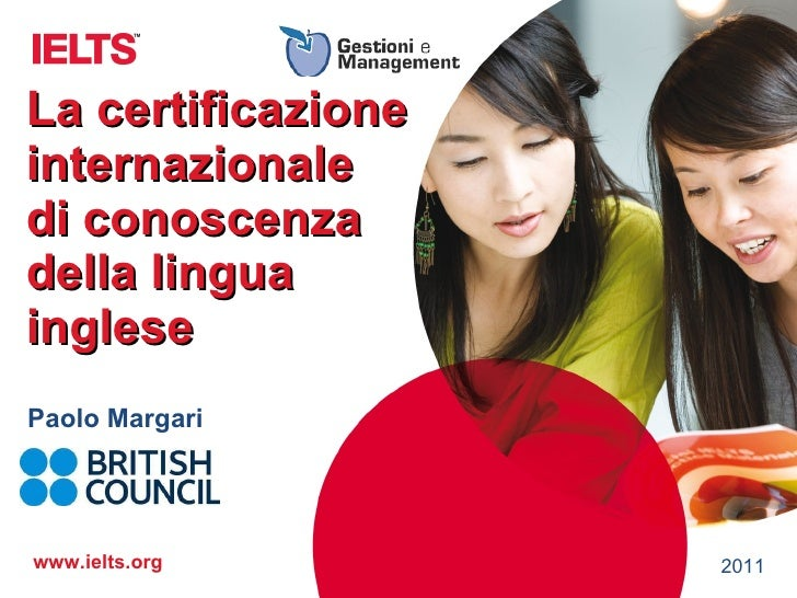 IELTS Gestioni e Management Roma 2011