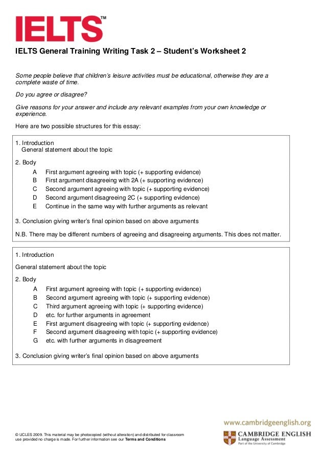 Ielts general training writing task 2 5 spiritdancerdesigns Image collections