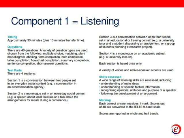 IELTS - Orientation Part I Slide 3