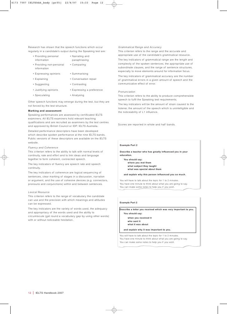 Ielts Handbook 2007