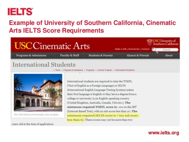Ielts in the us and beyond a truly global experience