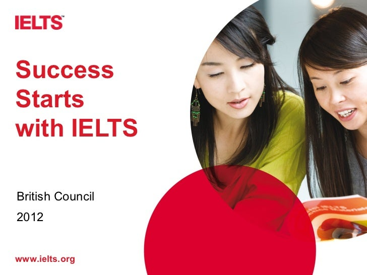 SuccessStartswith IELTSBritish Council2012www.ielts.org