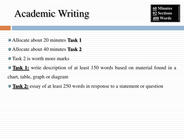academic essay tables