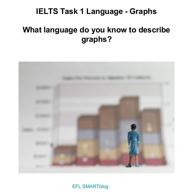 IELTS Task 1 Language - GraphsWhat language do you know to describe              graphs?            EFL SMARTblog