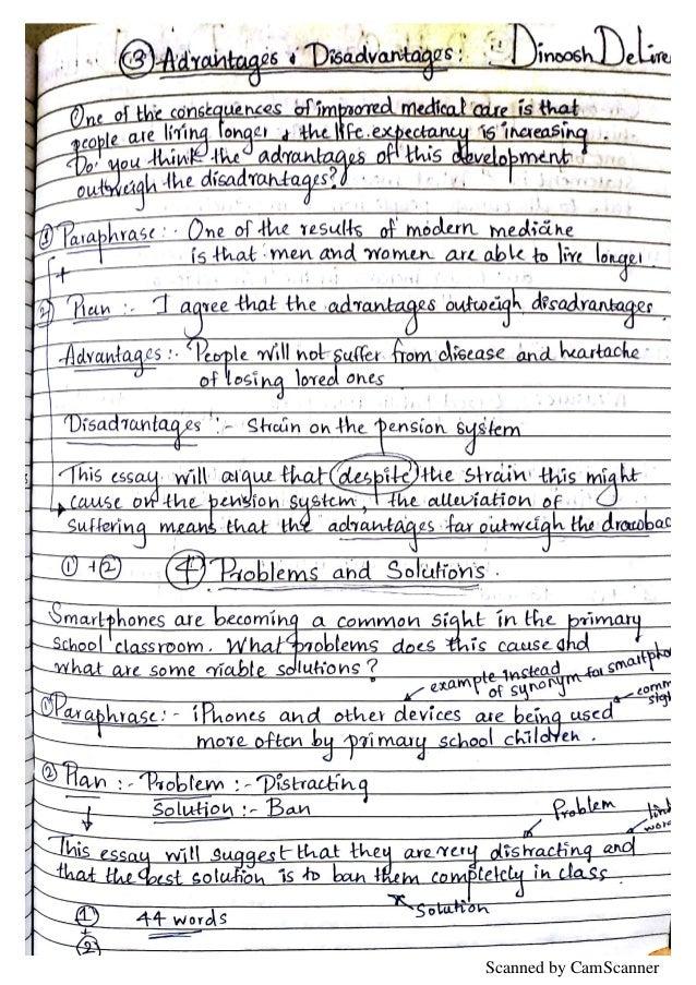 IELTS UKVI ACADEMIC - WRITING PART 2 (NOTES)