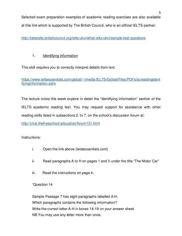 free ielts reading practice test academic pdf