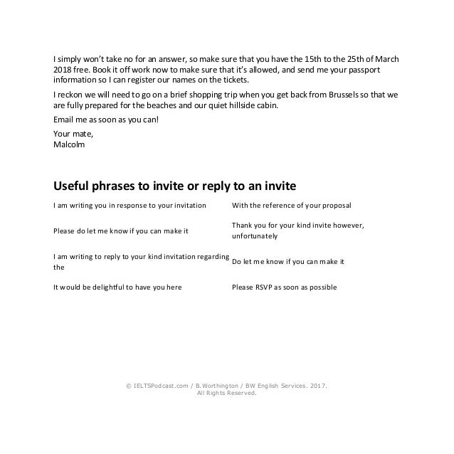 Ielts writing general task 1 sample letters and phrases 11 stopboris Image collections