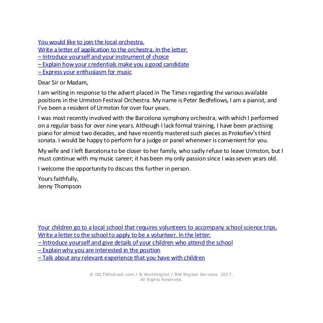 Ielts writing general task 1 sample letters and phrases 7 spiritdancerdesigns Choice Image