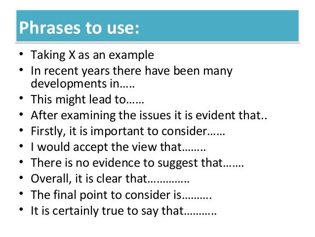 ielts essay introduction phrases
