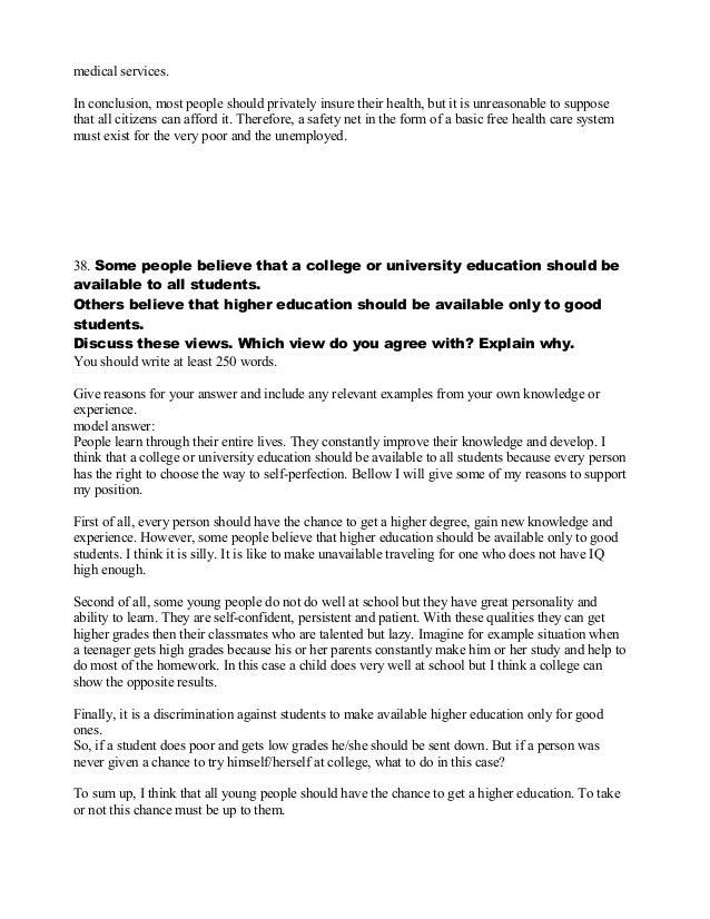 ielts samples writing task 2 pdf