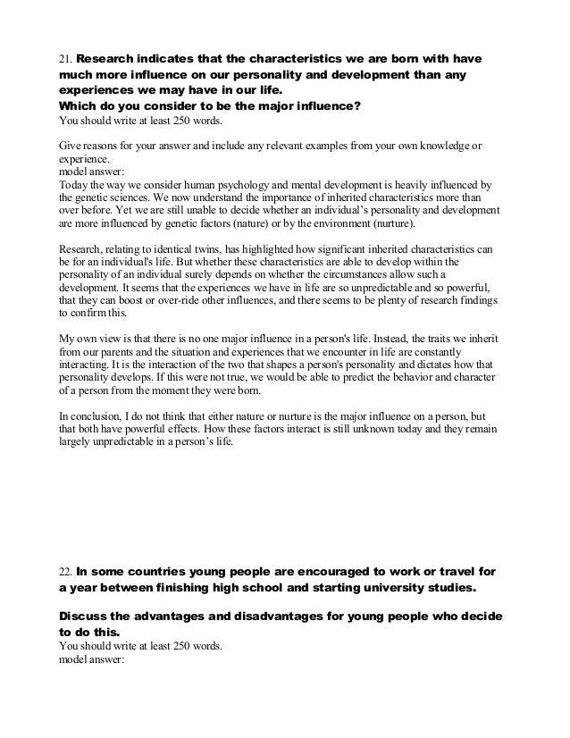 Expository essay on music