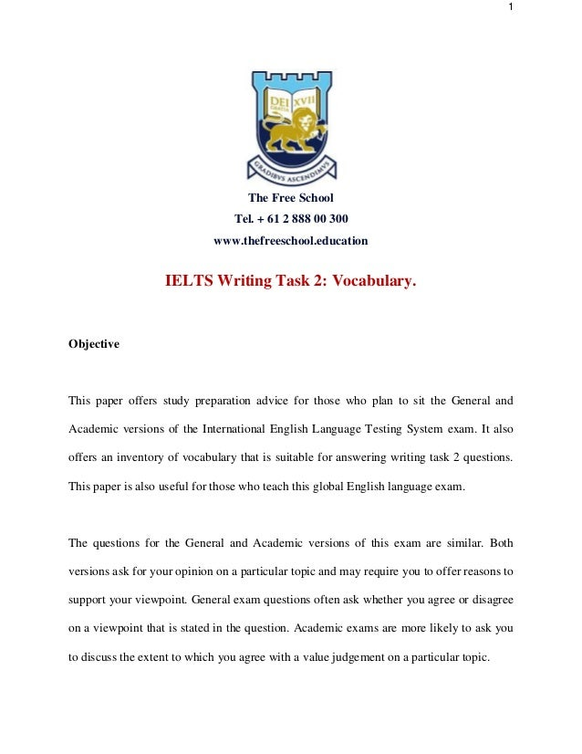 How to write at a band 9 level – IELTS Writing Task 2