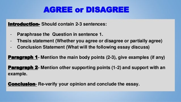 Opinion Essay Introduction: The Thesis Statement