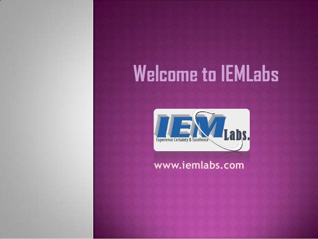 Welcome to IEMLabs  www.iemlabs.com