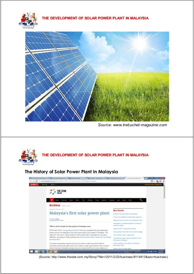 propect of solar energy in malaysia Malaysia had installed xx gw of pv solar energy capacity in 2014, and has since added at least xx gw of new solar capacity every year the government has also been moving forward strongly on clean energy and has a goal to reach xx gw by 2020.