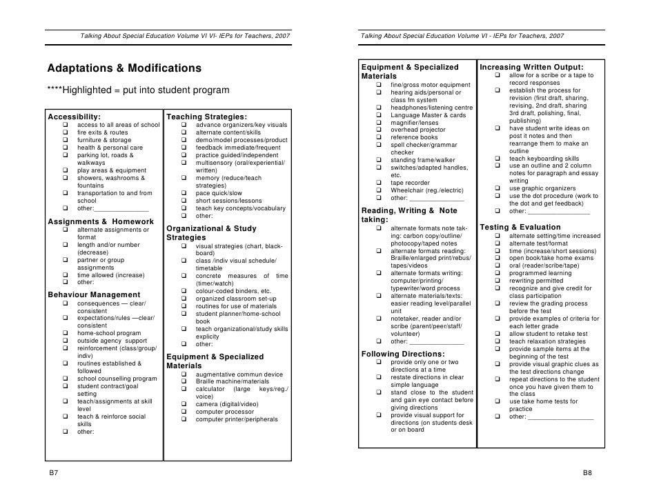 Iep Document