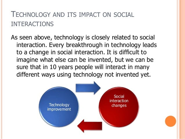 Technologies effect within the workplace