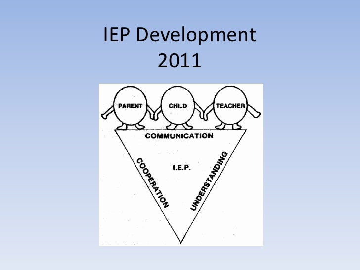 IEP Development 2011<br />