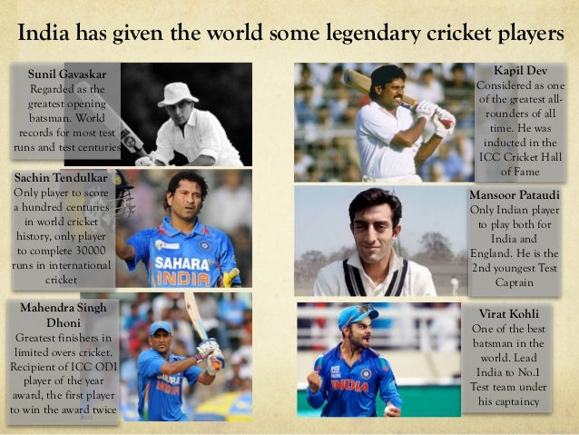 World Cup Victory Cricket Is Worshipped In India 10 Sachin Tendulkar Only Player