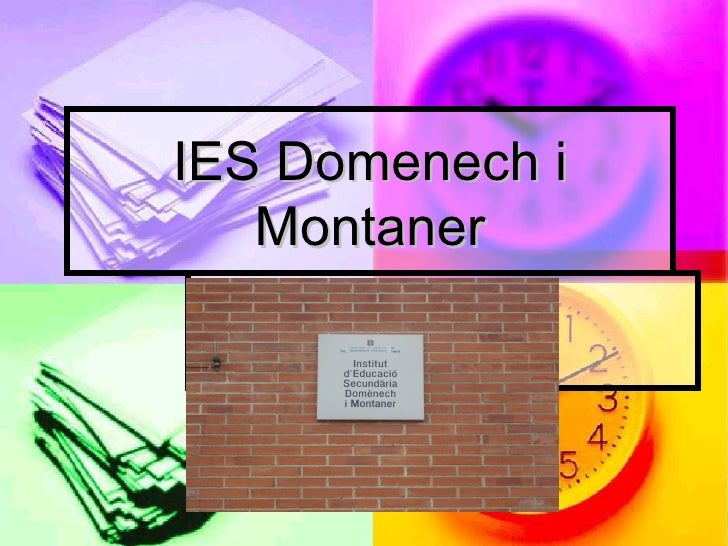 IES Domenech i Montaner REUS